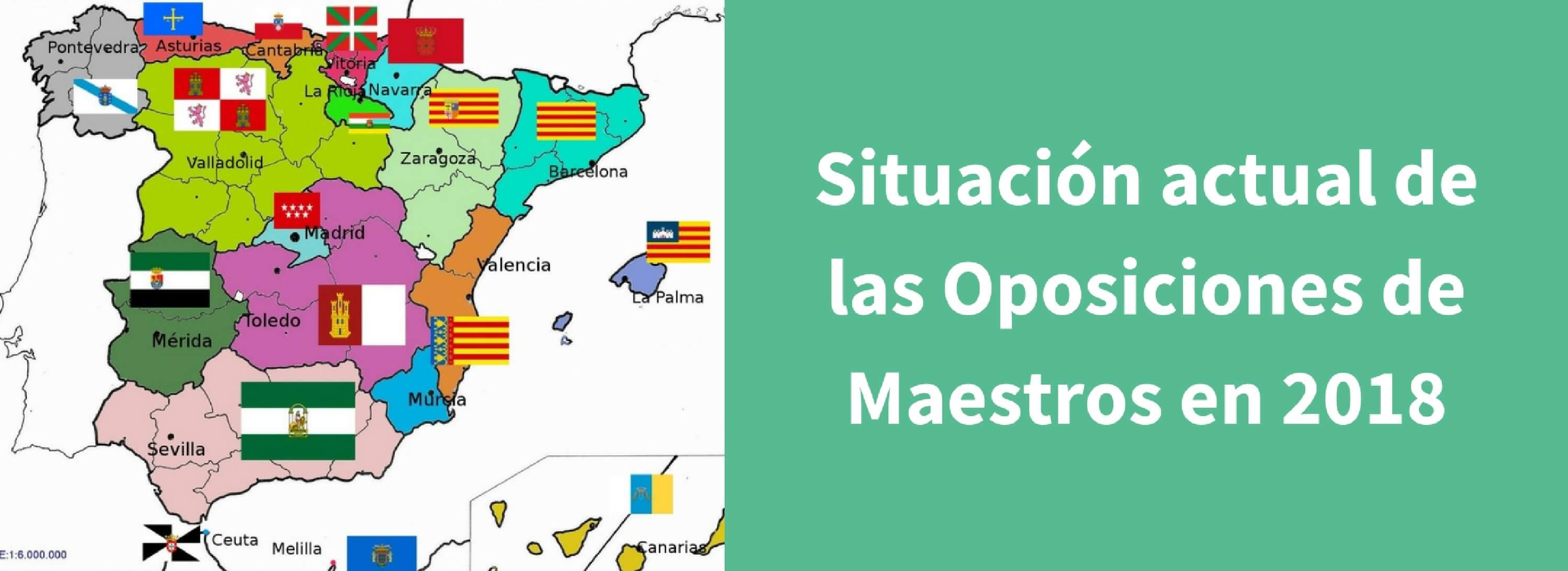 Oposiciones de Maestros en 2018