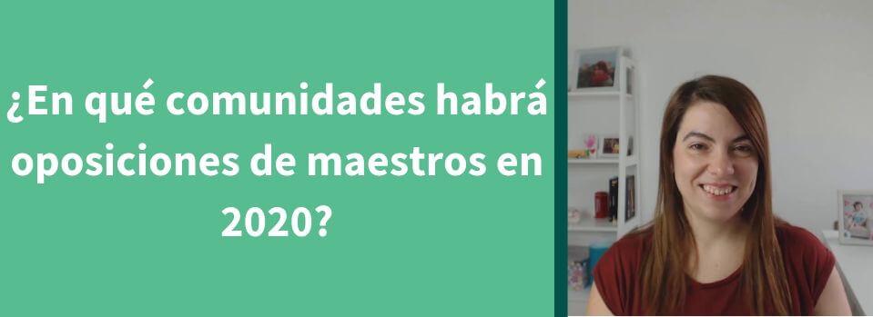 oposiciones maestros 2020